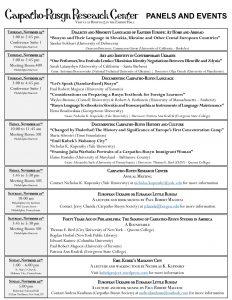 ASEEES 2015 Schedule